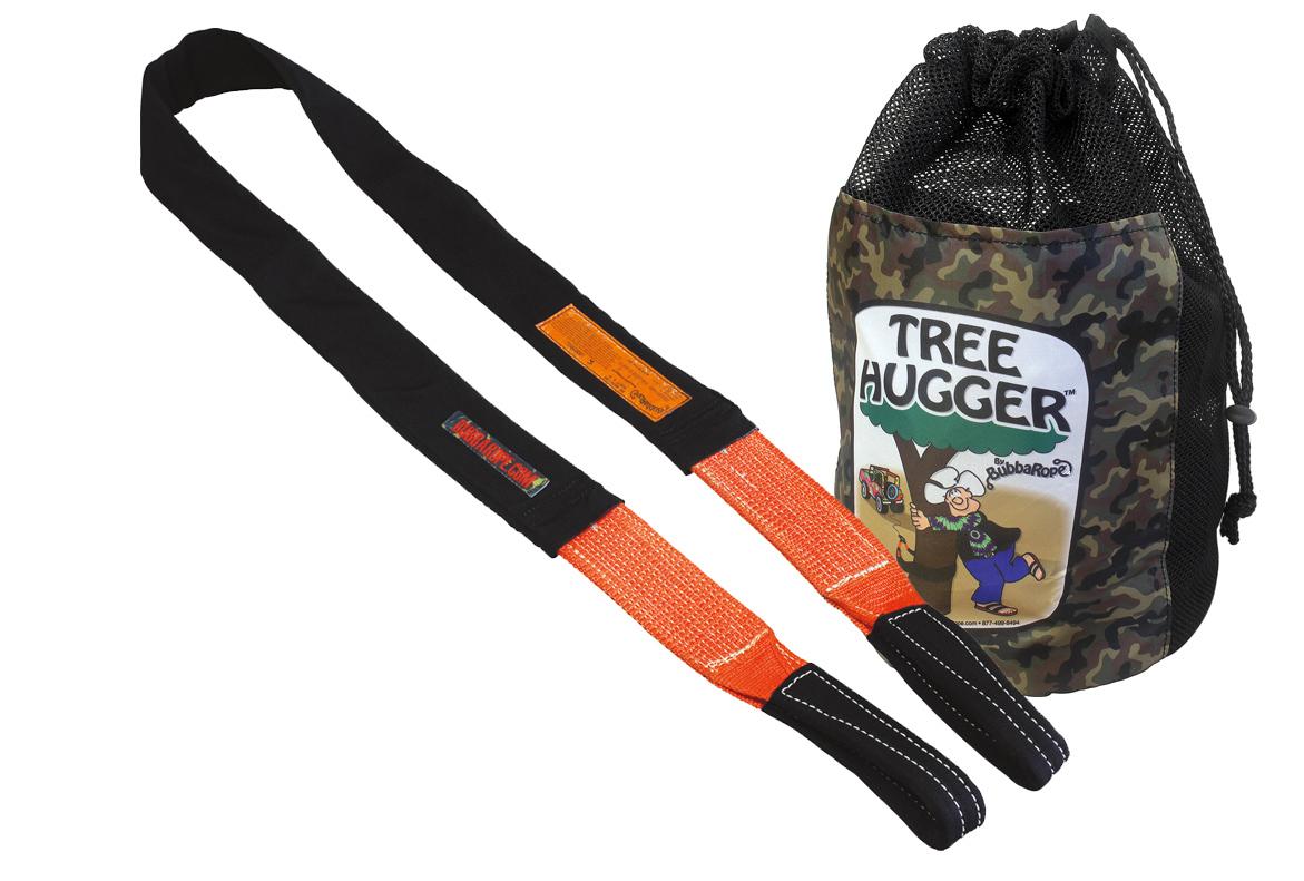 Bubba Rope® Tree HuggerT Baumankergurt 4,9 m Bruchlast 26.250 kg schwarz orange
