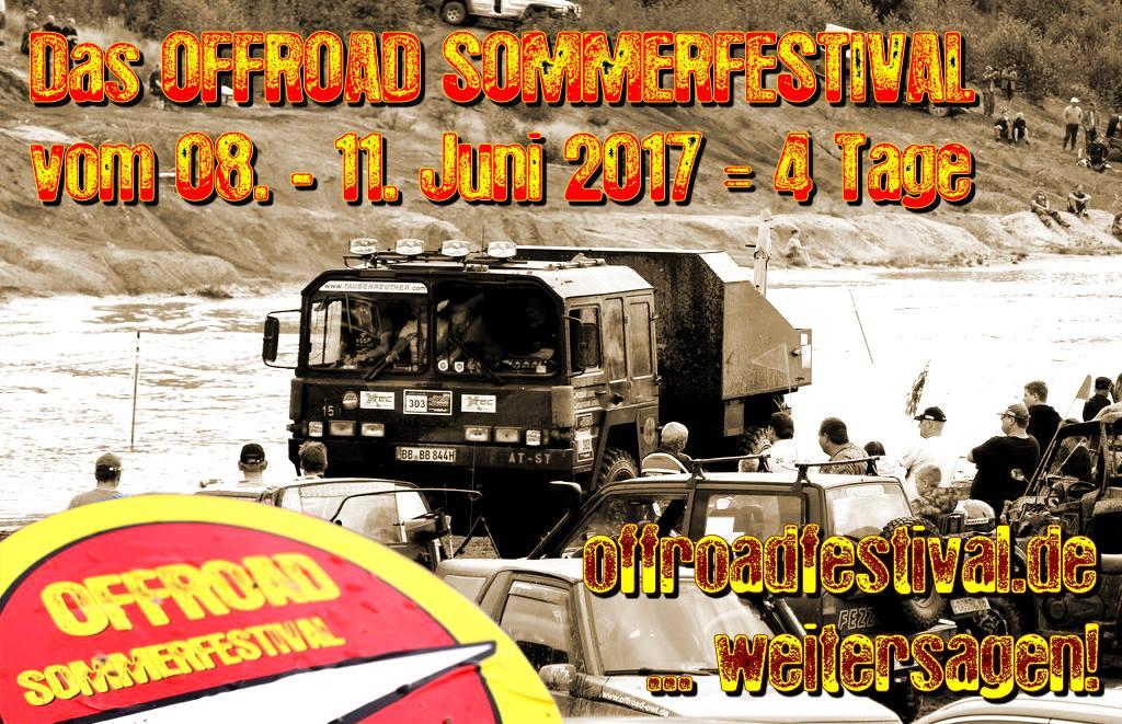 Das Offroad Sommerfestival 2017